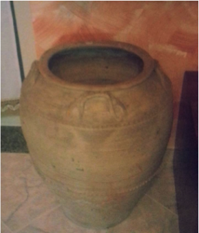 Menàre de crete pe' l'acque. Monara in terracotta per l'acqua
